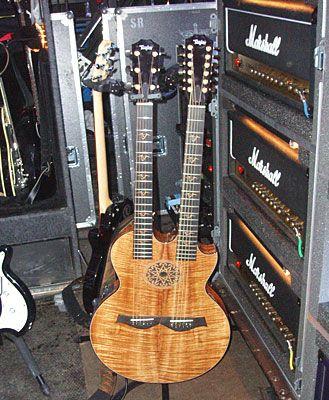 Duel Neck Guitars Guitar Taylor Guitars Cool Guitar