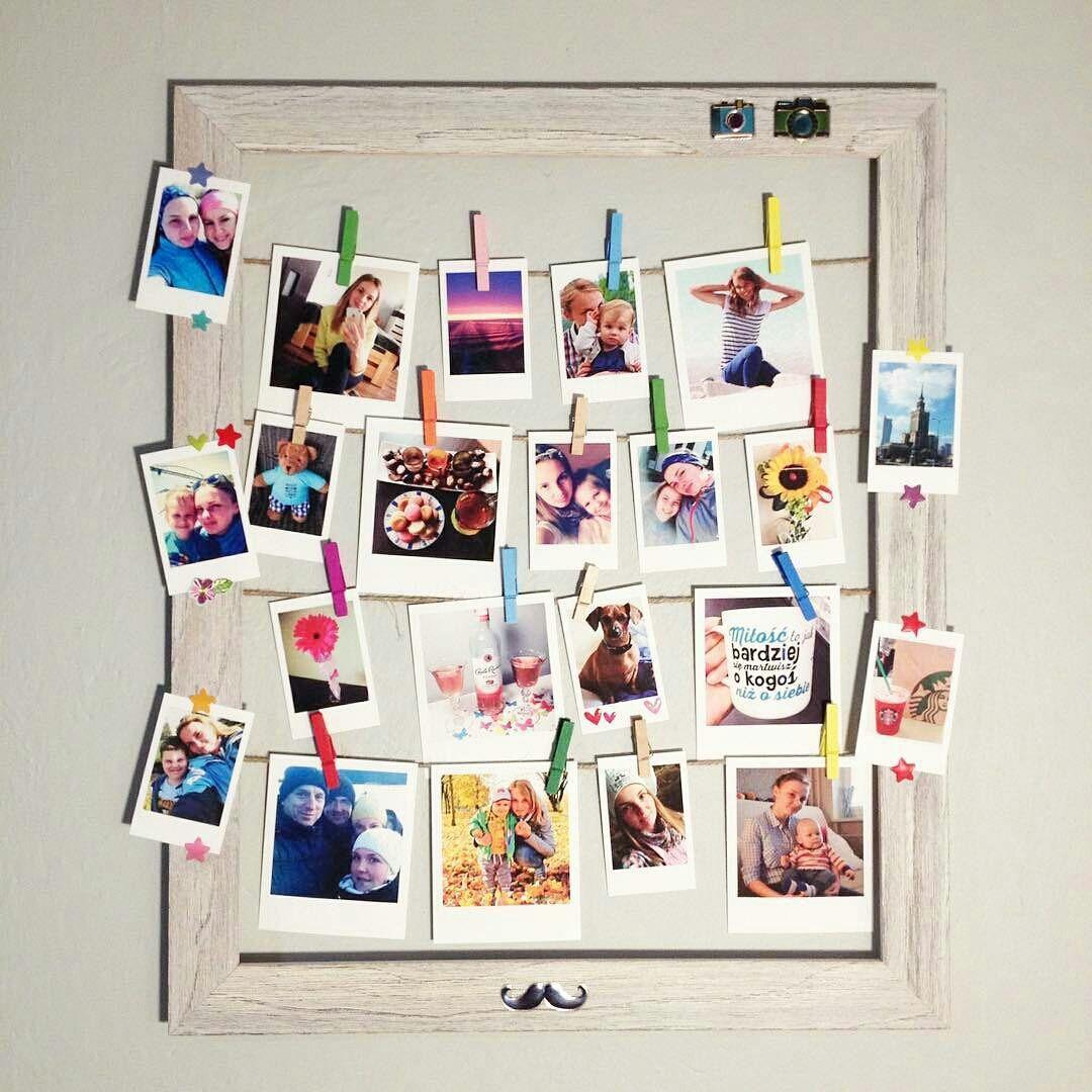 Drukowanie Zdjec W Formie Polaroidow Zdjecia Retro Z Instagrama
