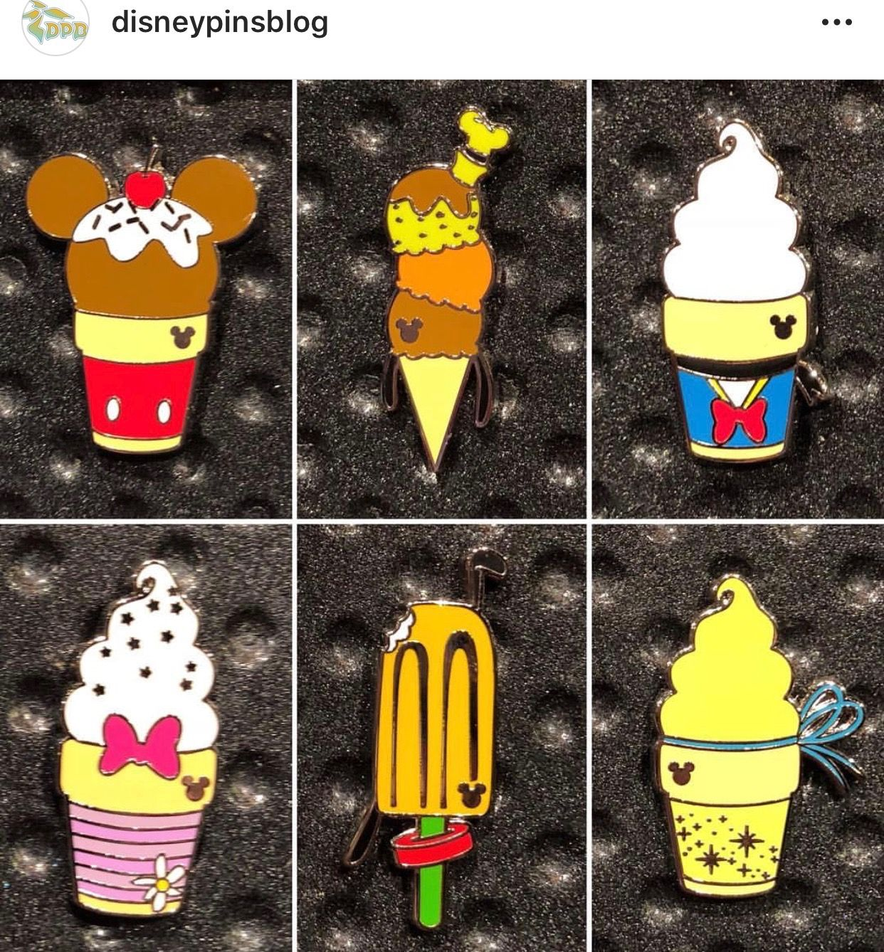 Disney Pin *Ice Cream* Character Treats Mystery Collection Donald!