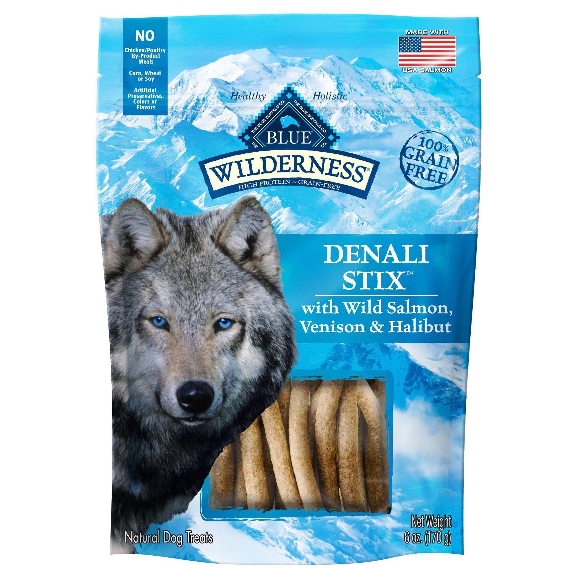 Blue Buffalo Wilderness Denali Dinner Stix Dog Treats 6oz
