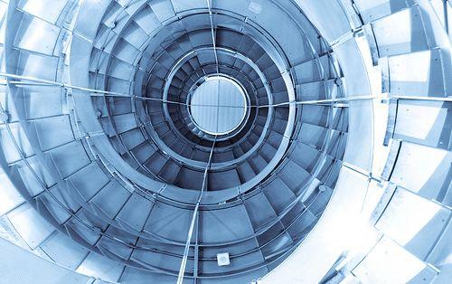 Best Blue Stairway At The Lighthouse Glasgow Stairways 400 x 300