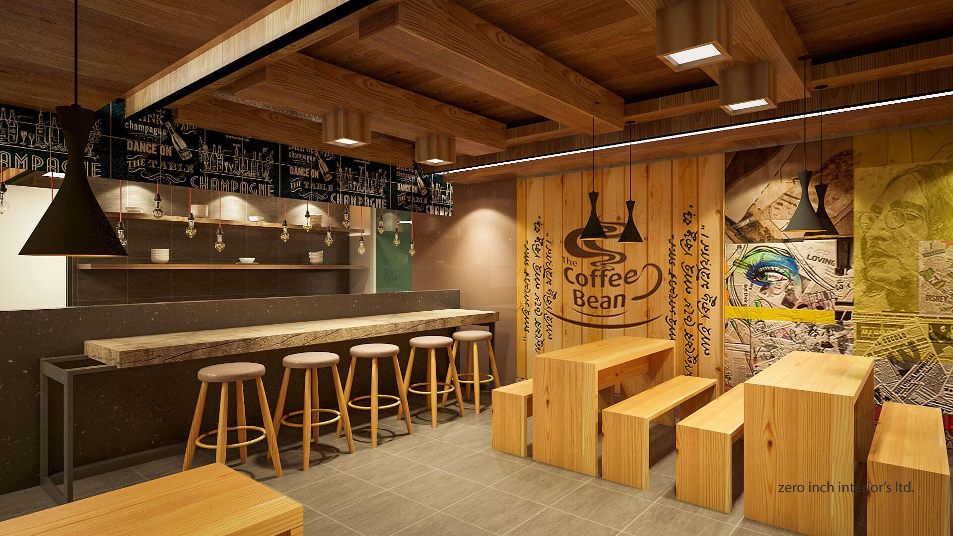 100 Modern Cafe Interior Design Concepts For Elegant Look With