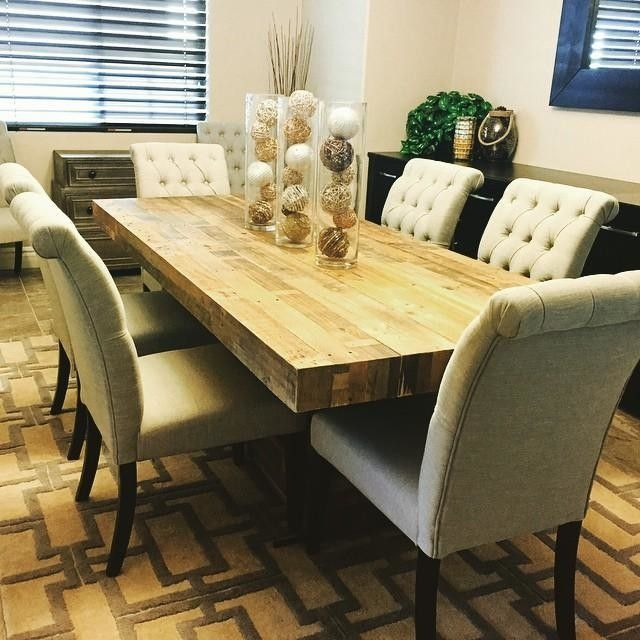 Tahoe Ii 89 Inch Dining Table Living Spaces Living Table