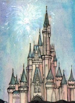 Magic Kingdom Castle Disney