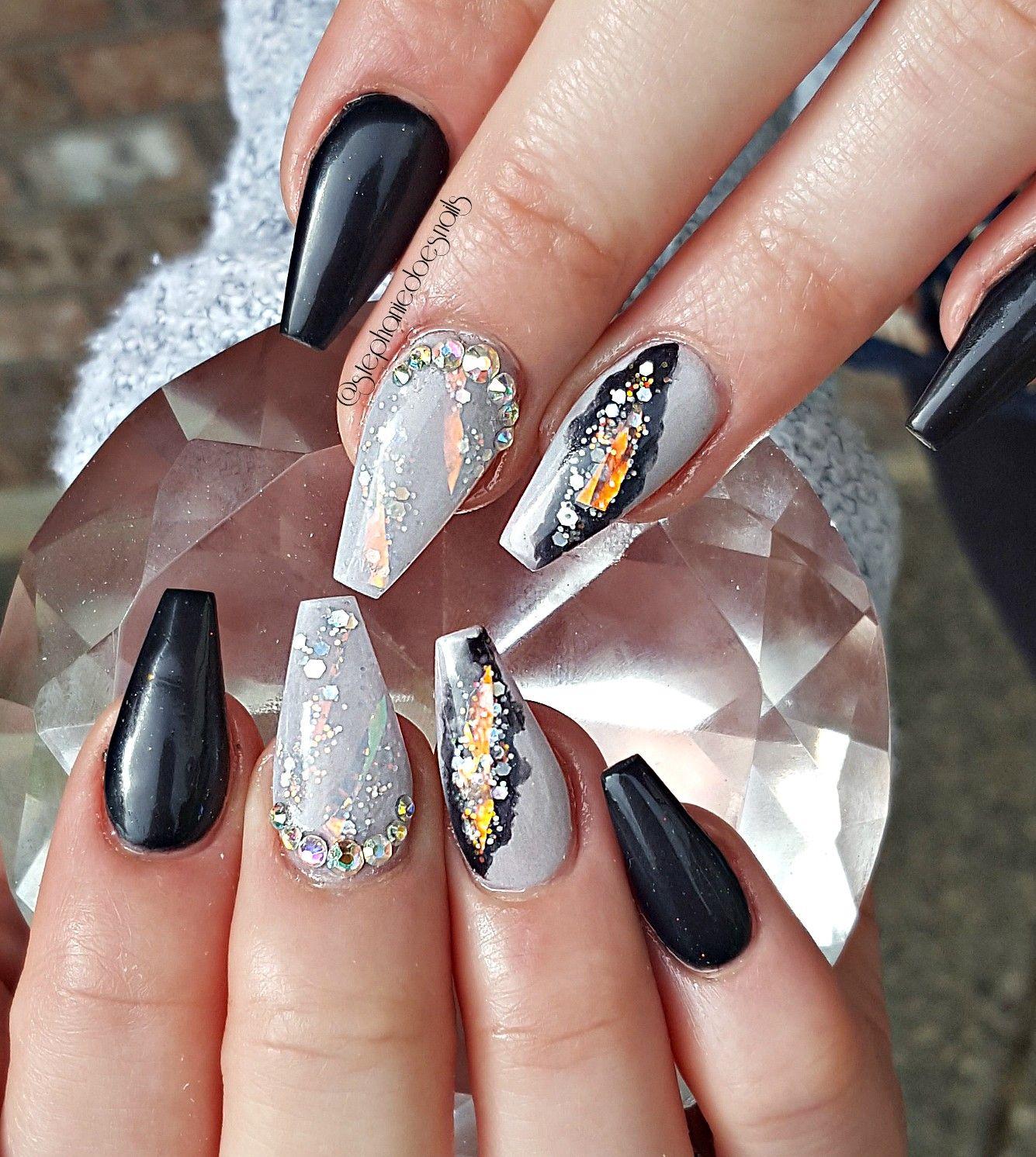 Geode nails | Fancy huh | Pinterest | Nail nail, Makeup and Nails ...