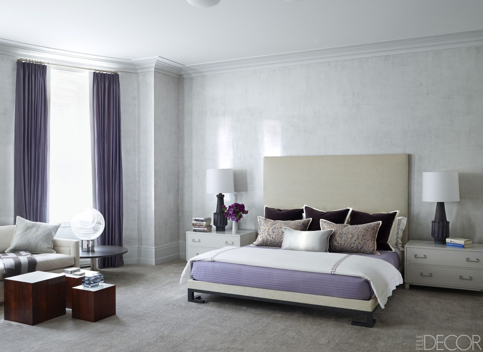 22 Grey Bedrooms That Are Anything But