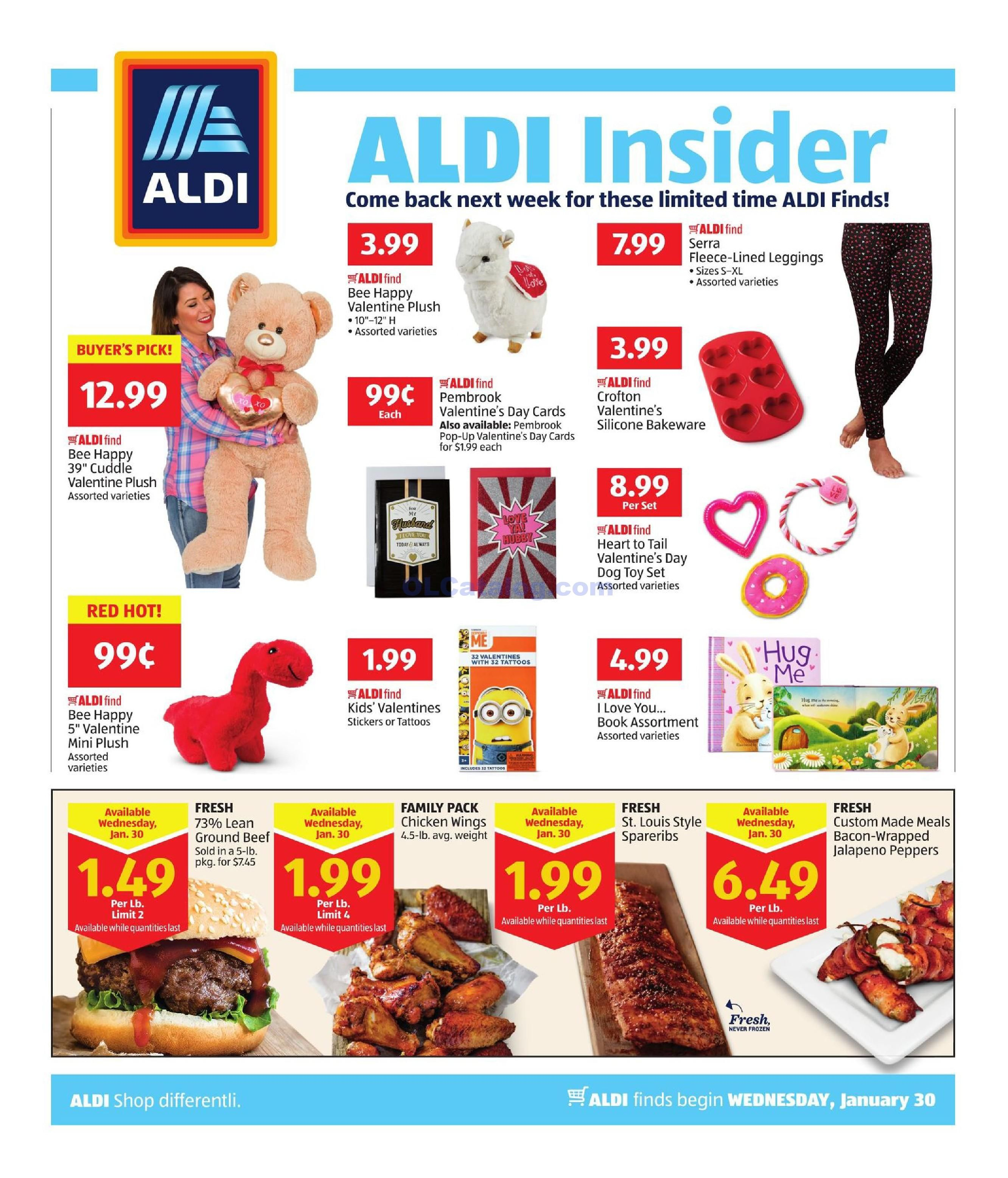 Aldi In Store Ad Starting January 30 February 5 2019 View The Latest Flyer And Weekly Circular Ad For Aldi Here Likewise Yo Aldi Store Ads Digital Coupons