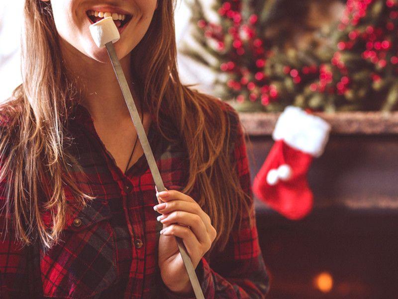 Einfach abnehmen: Wenn ihr diese simple Regel befolgt, setzt der Weihnachtsspeck nicht an