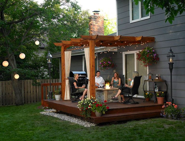 Inexpensive Patio Shade Ideas, Small Patio Canopy Ideas