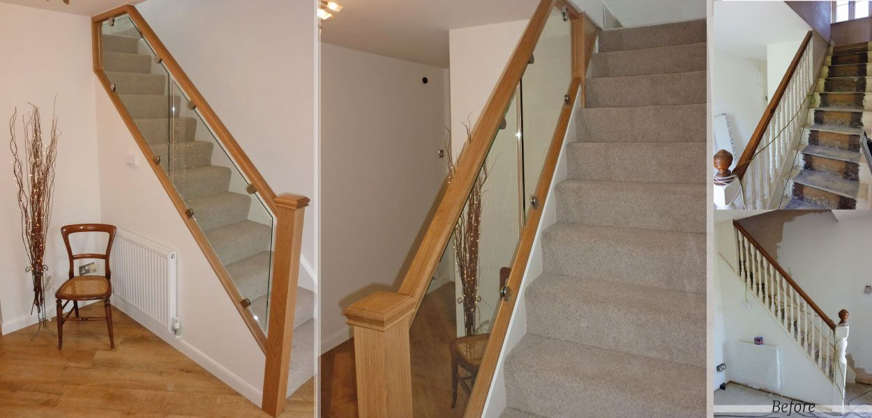 Best Diminished Glass Masterpiece Bespoke Staircases Renovations 400 x 300