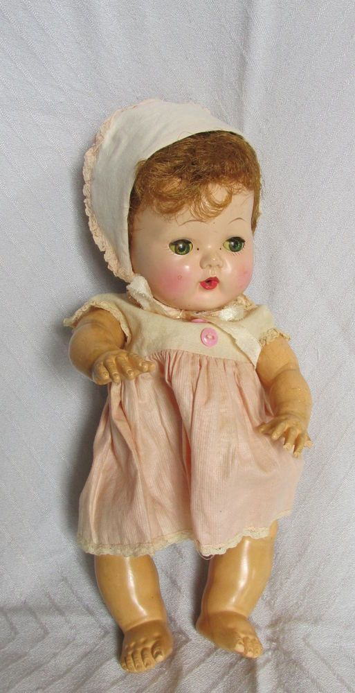 4a4b16f476f5 Vintage 1950s American Character Doll Tiny Tears 12