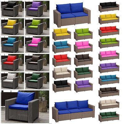 Cushion Pads For Keter Allibert California Rattan Garden Furniture