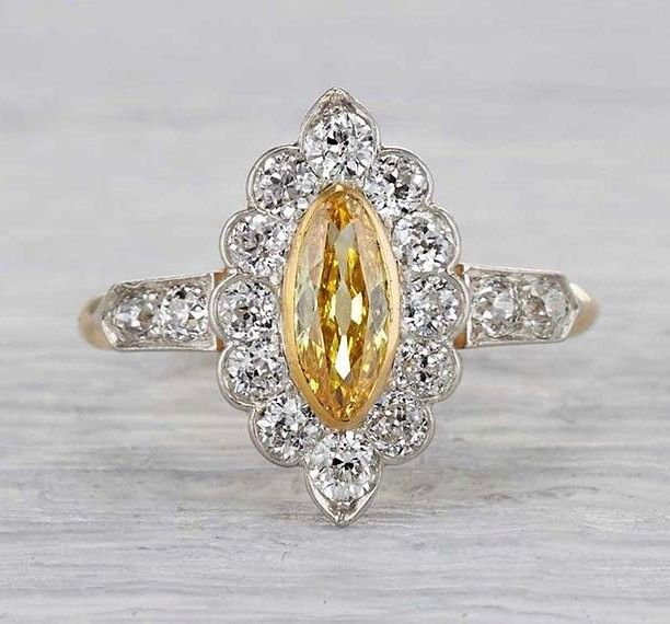 The sun is finally out and so are we with this beautiful yellow diamond ring by @erstwhilejewelry check them out and check out @blingchat  #beautiful #wow #yellow #ring #diamond #jewelry #wedding #bridal #diamonds #rings #jewellery #jewels #sunshine #yellowdiamond #blingchat #chatbot #shesaidyes #onlinejewelry #onlineshopping #tagsforlike #tags4follow