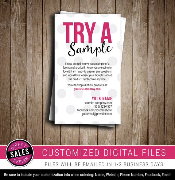Sample Card Business Card Promo Card Blitz By Directsalesdesign Perfectly Posh Samples Standard Business Card Size Perfectly Posh