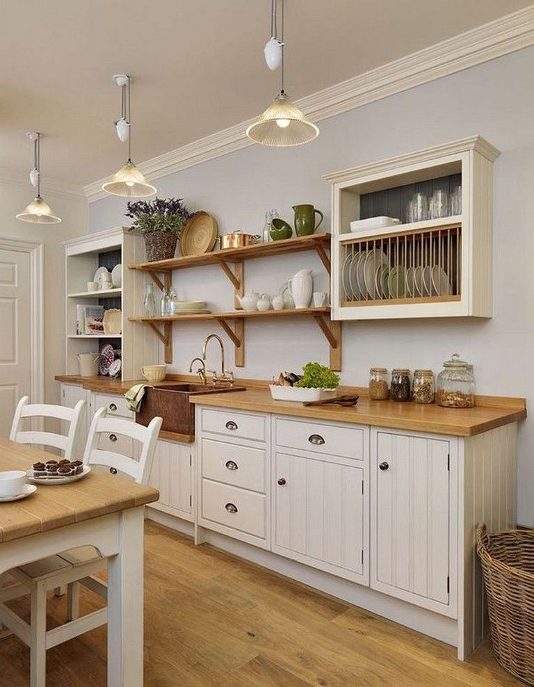 33+ Awesome Open Kitchen Shelving Ideas From Wood