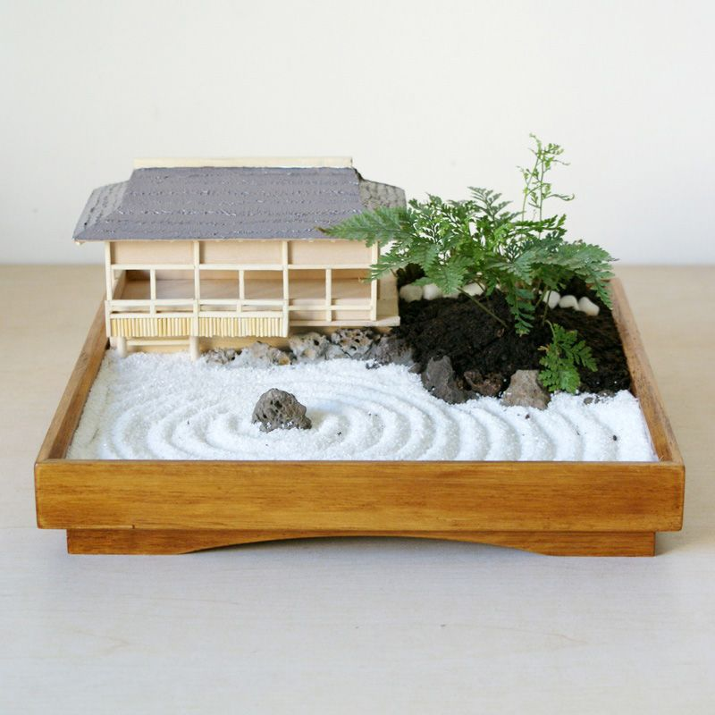 Mini Zen Garden More Japanese Design Pinterest Mini Zen Garden