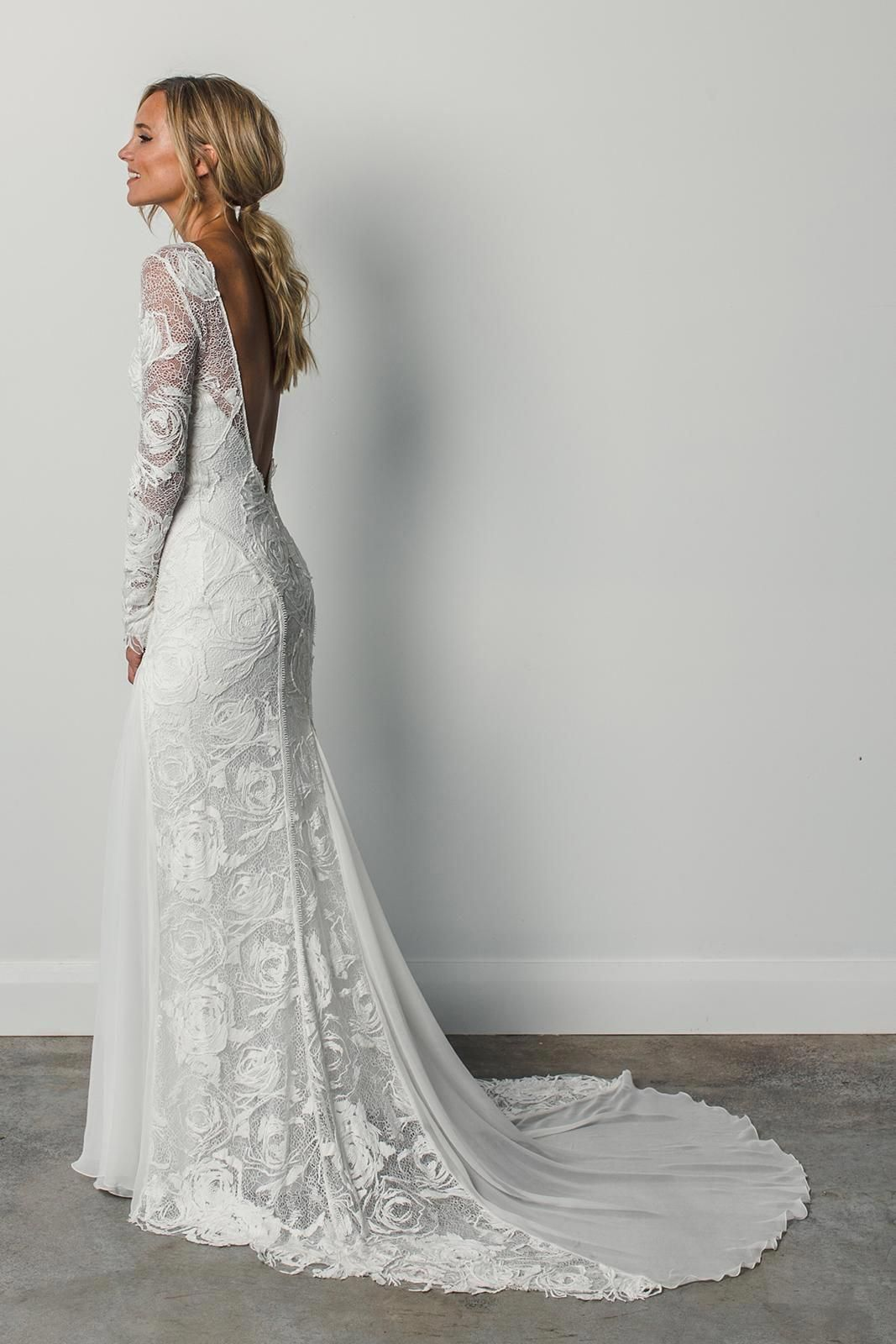 30 tempting wedding dresses with long sleeves in 2020