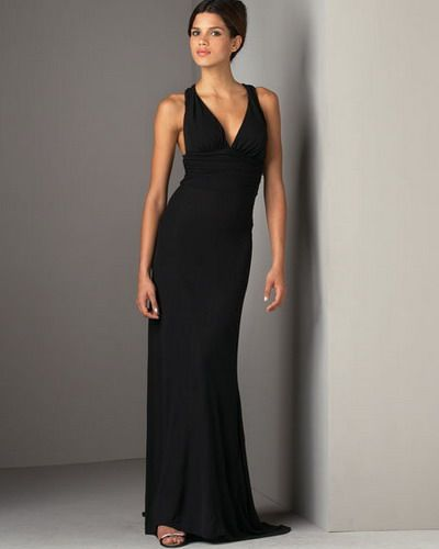 Just For Women Black Tie Dresses