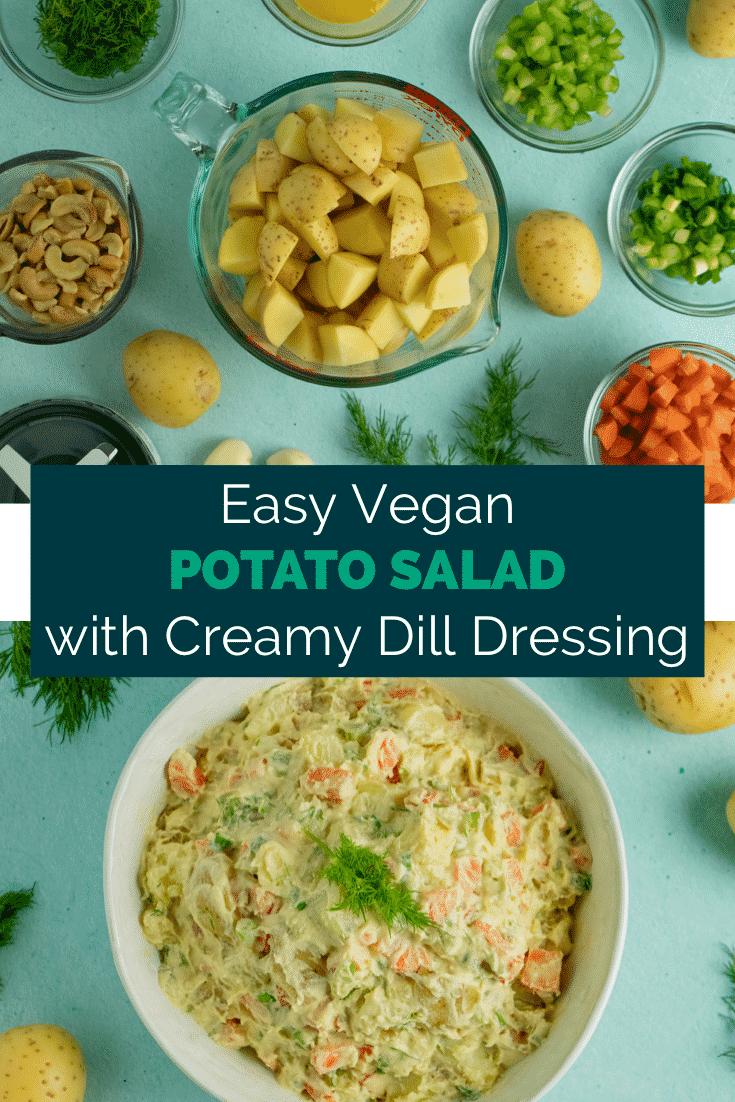 Creamy Vegan Potato Salad Recipe