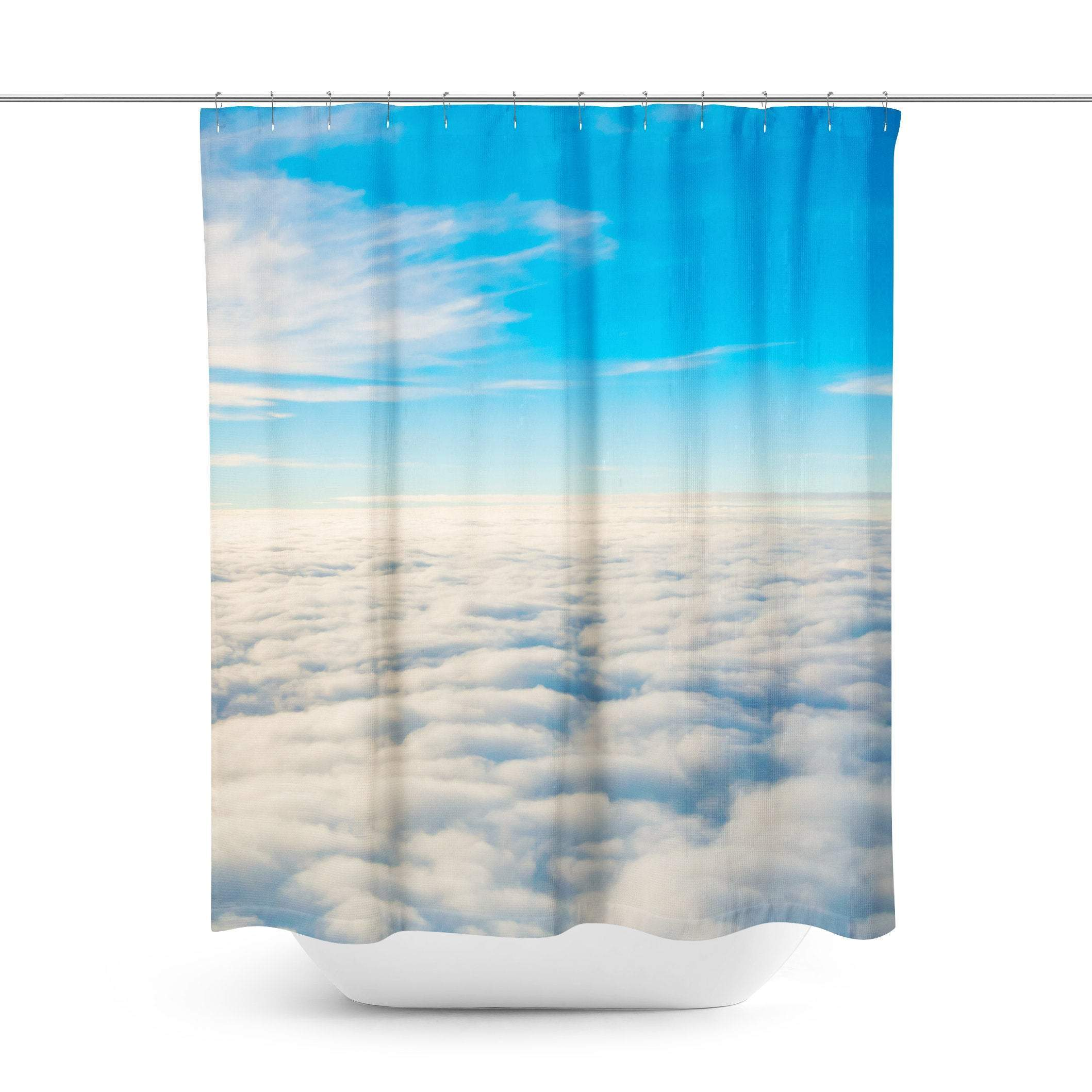 Clouds Shower Curtain Curtains Shower Curtain Designer Shower
