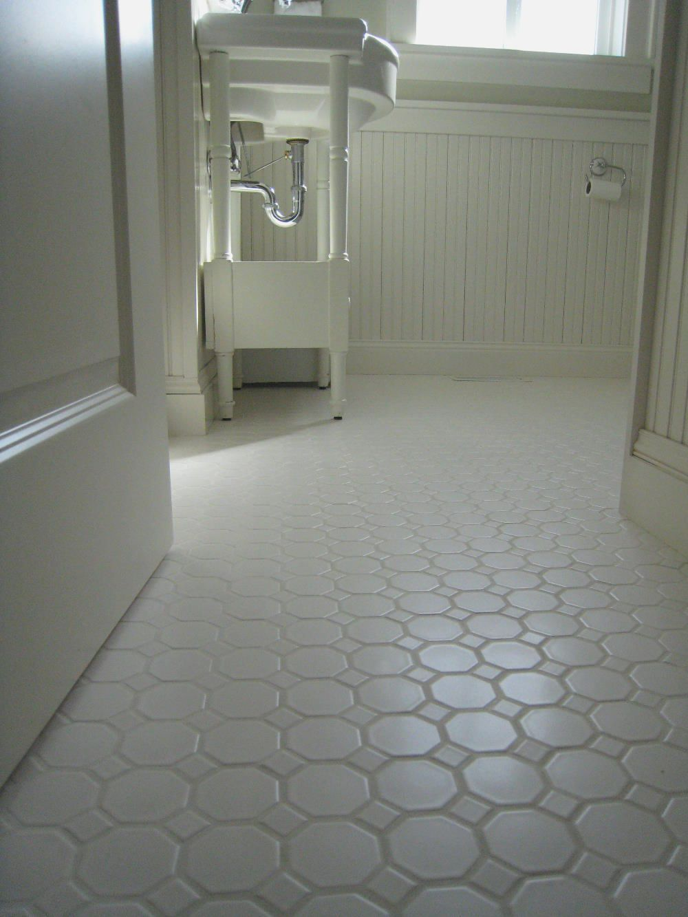 Penny Tile Non Slip Tile Ideas | Bathroom | Pinterest | Penny tile ...