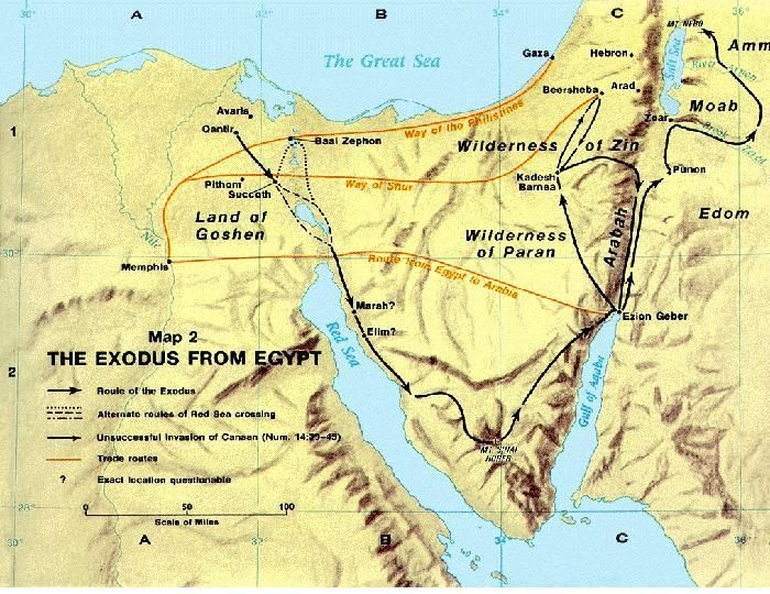 The Exodus from Egypt 1 The great saving event of God leading