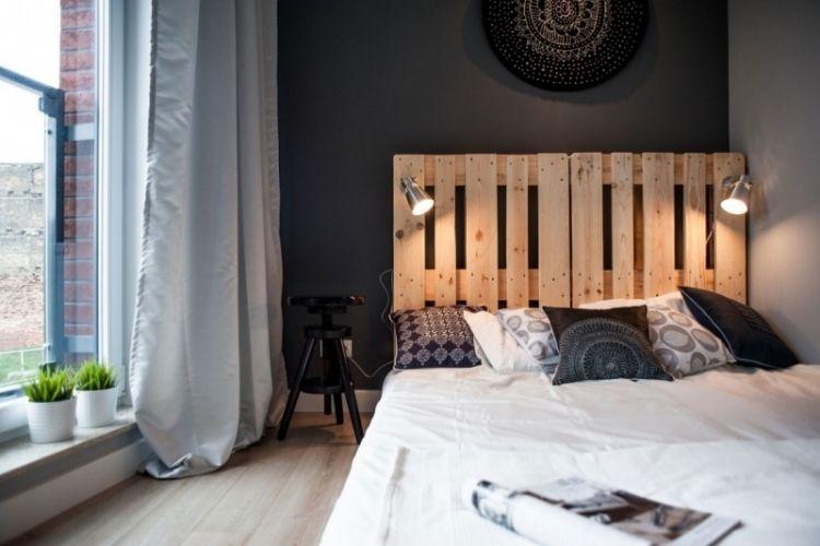 Deco Noir Et Blanc Dans Un Petit Appartement Chic Et Raffine Avec