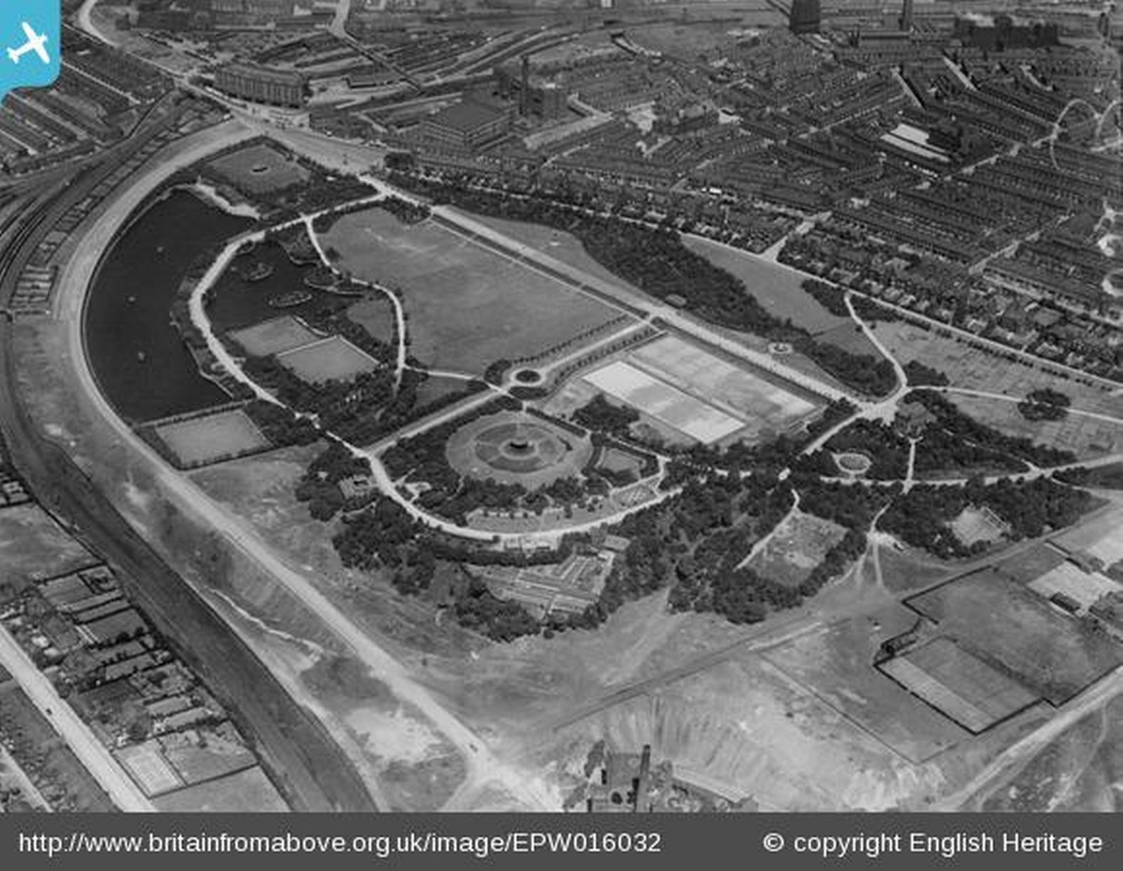 Alexandra Park Oldham 1926
