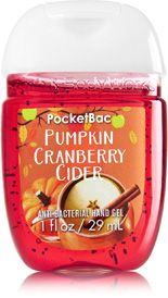 Pumpkin Cranberry Cider Pocketbac Sanitizing Hand Gel Soap