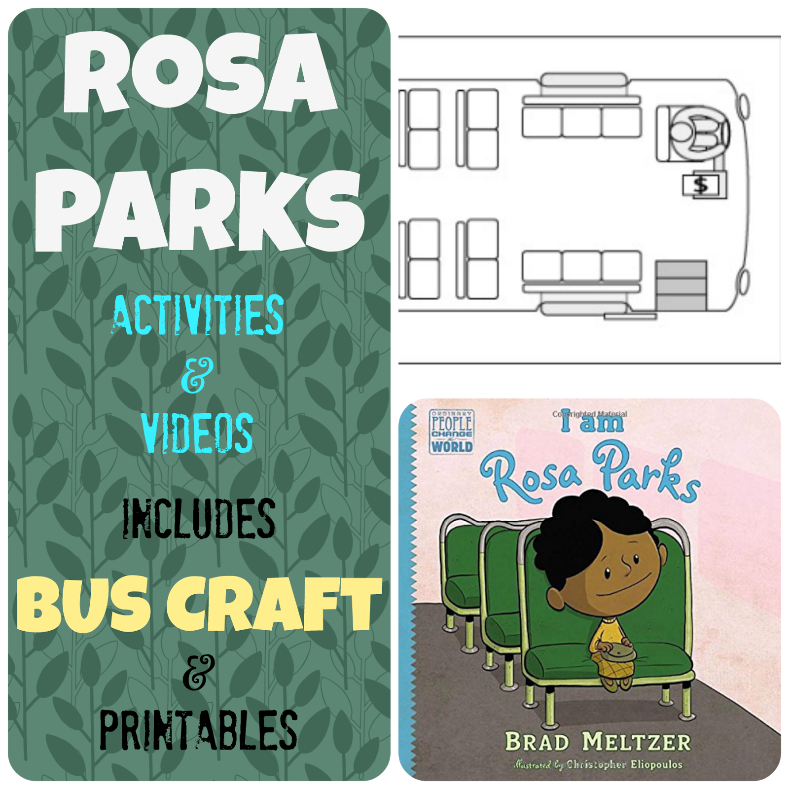 Rosa Parks Bus Story Videos And Activities