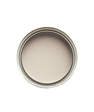 Elephant's breath color by Farrow-Ball. Warm gray with hints of yellow. Also charleston gray.