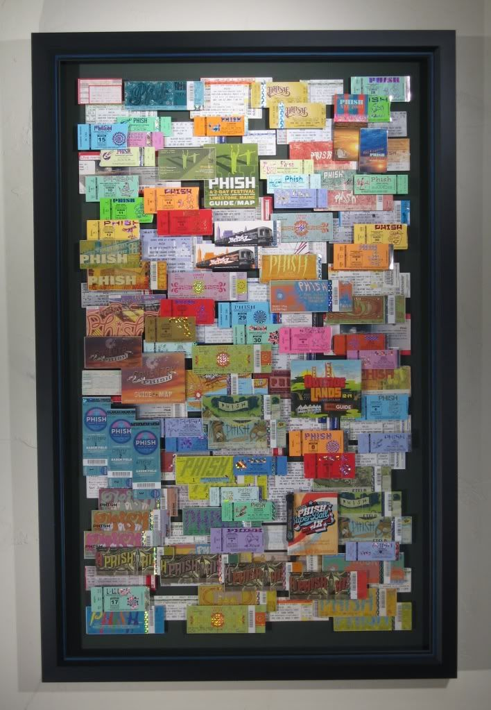 Concert tickets, travel display | Home-provision | Pinterest ...
