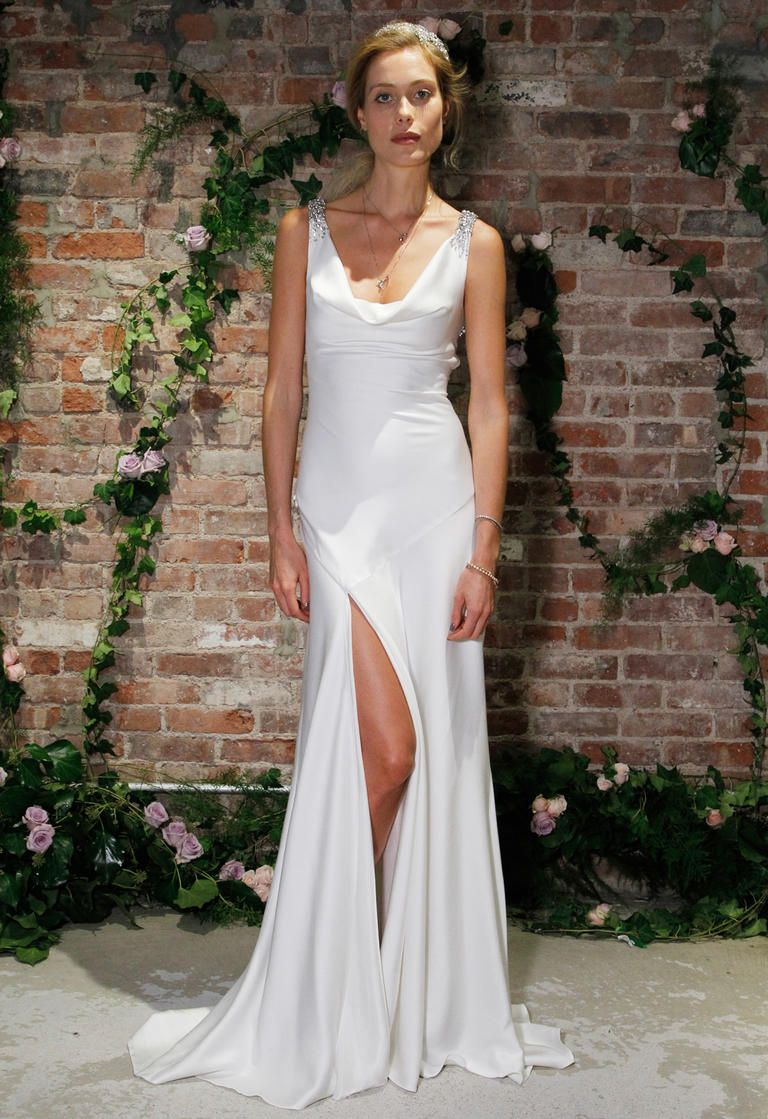 jenny packham's fall 2016 wedding dresses have an old-hollywood vibe