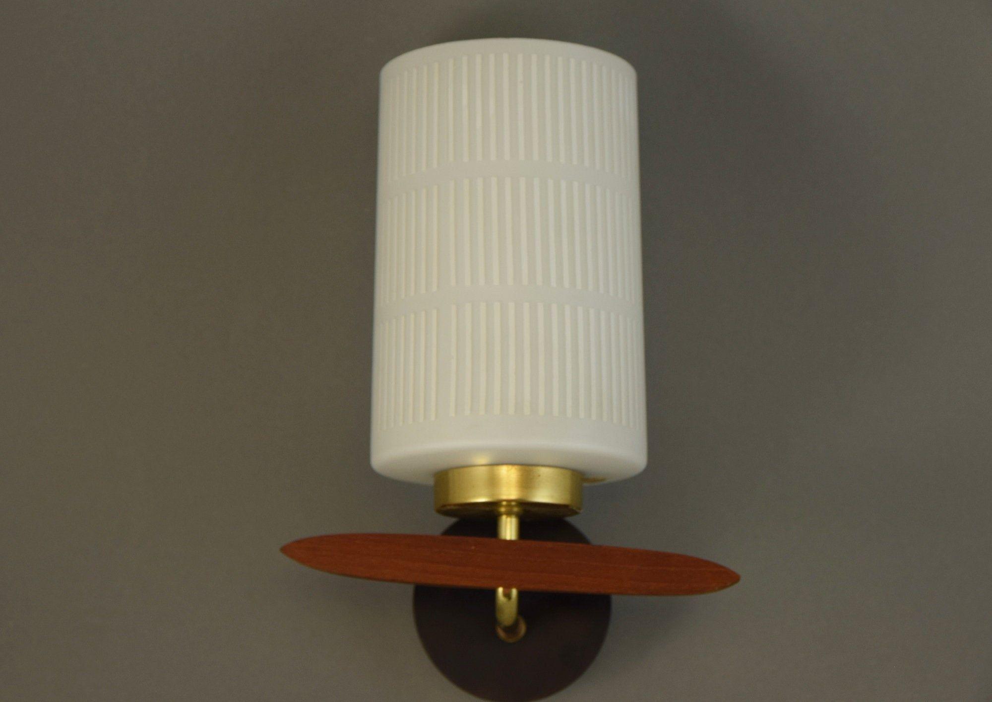 Vintage Mid Century Wall Lamp Teak Vintage Scone Danish Design Teak Lamp 60s Mid Century Modern Design Wall Lamp Mid Century Modern Design Lamp