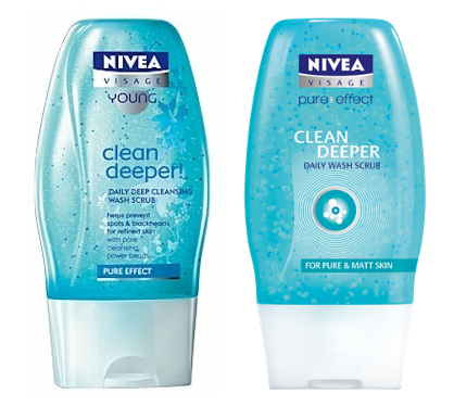 Nivea Visage Young Clean Deeper Scrubs Cleaning, Nivea