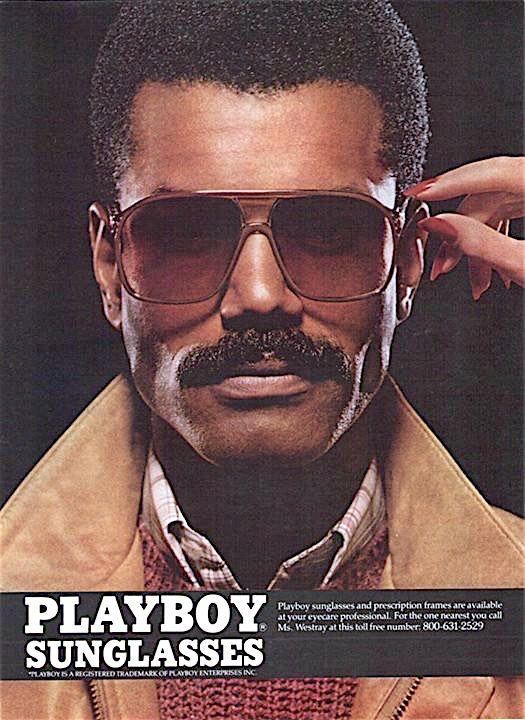 dffba7922d Playboy sunglasses vintage advertisement
