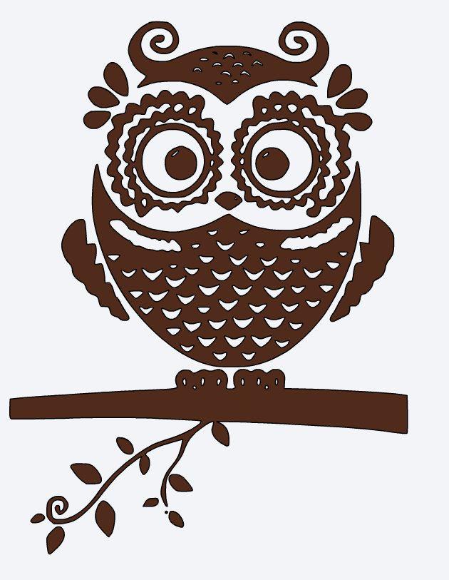 OWL Vinyl Decal Coffee Mug Car Decal Window Decal Tumbler - Owl custom vinyl decals for car