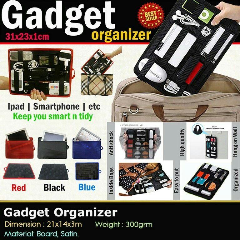 Gadget Organizer Harga Reseller Rp. 75rb Perlengkapan
