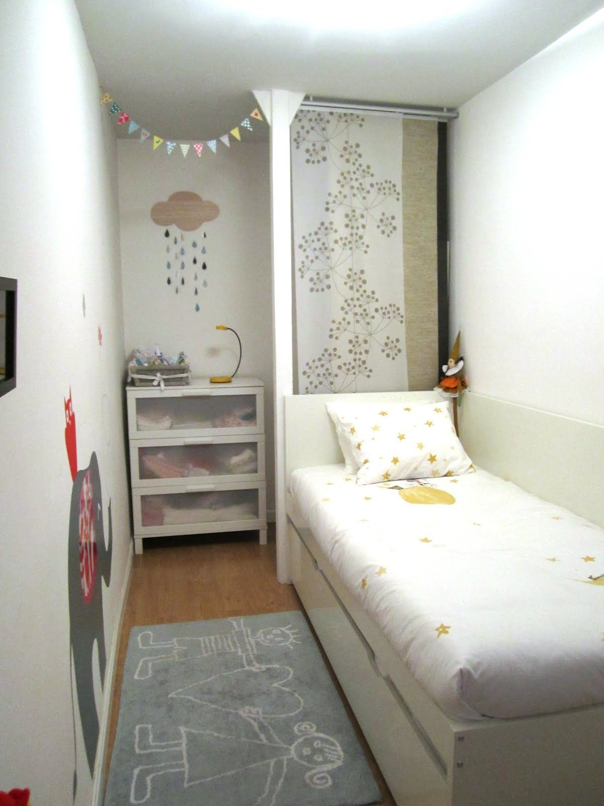 Elle Blogs | Very small bedroom, Small room bedroom, Tiny ...