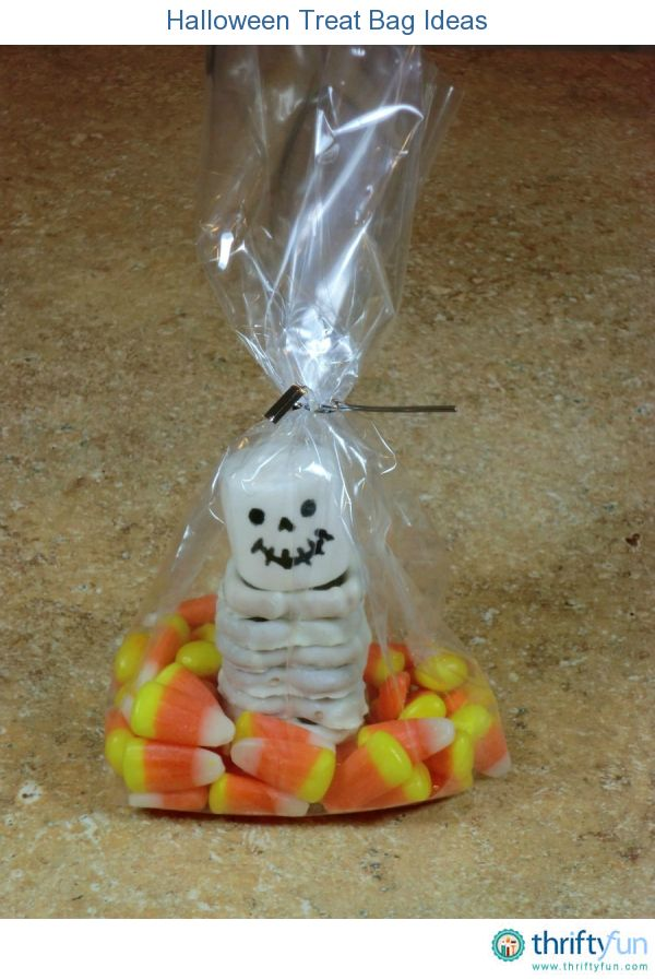 Halloween Treat Bag Ideas Child, School and Bag - halloween treat bag ideas