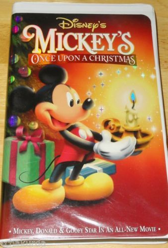 mickeys once upon a christmas vhs 1999 walt disney goofy donald duck 786936097245 ebay - Mickeys Once Upon A Christmas Vhs