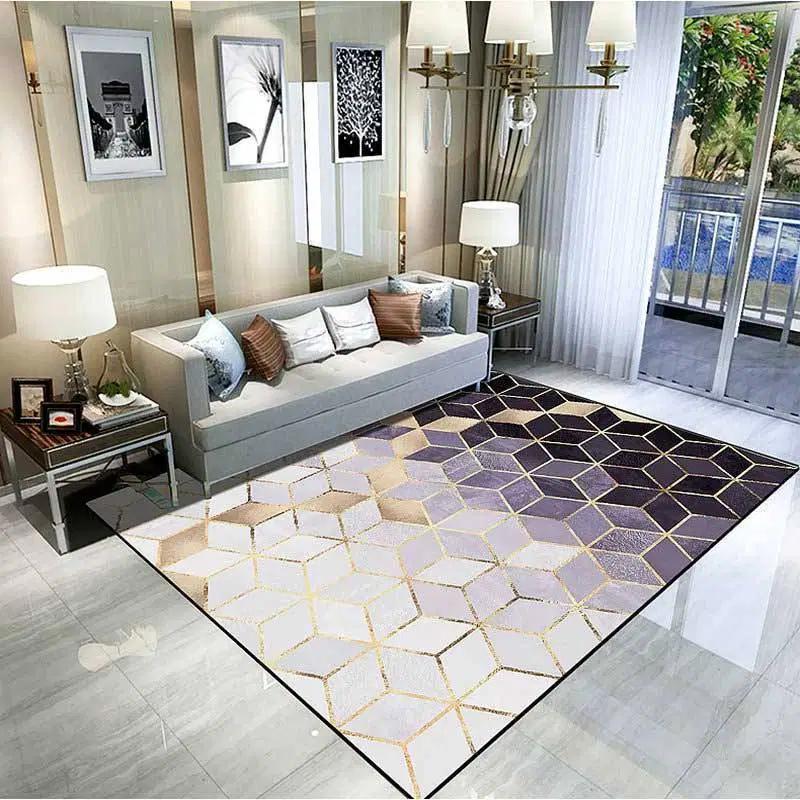 Modern Luxury Style Living Room Area Carpet Rugs Warmly Home Area Room Rugs Living Room Area Rugs Rugs On Carpet #patterned #carpet #living #room