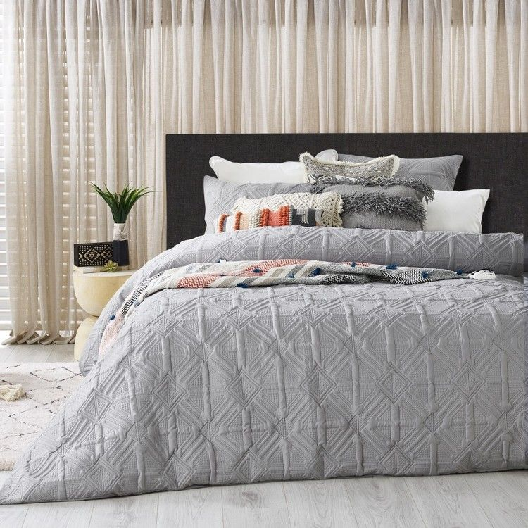 Koo Arlo Quilt Cover Set Quilt Cover Sets Ikea Inspiration Single Size Bed