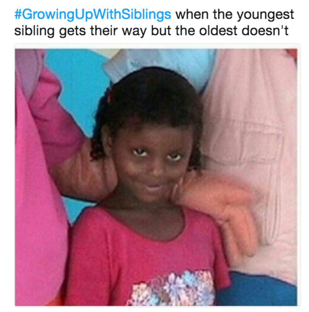 If You Re A Younger Sibling Please Read This Post And Then Call Your Eldest Sibling To Apologize Sibling Memes Siblings Funny Funny Relatable Memes