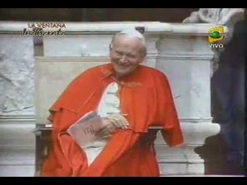 """La risa del Papa """"Juan Pablo II"""""""