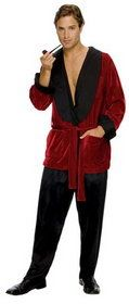 Rubies 889295 Hugh Hefner Smoking Jacket #Halloween