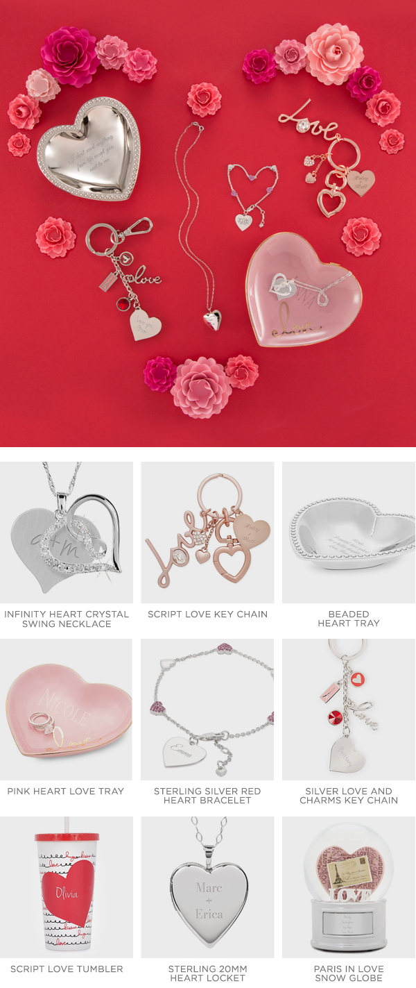 find personalized valentines day gifts for her with things remembered check our top personalized gifts