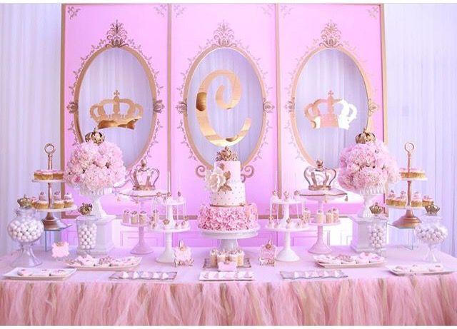 Royal Princess Theme Princess Theme Birthday Party Royal