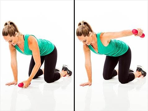 Lose those batwings! 5 weeks, 5 exercises for arms and shoulders