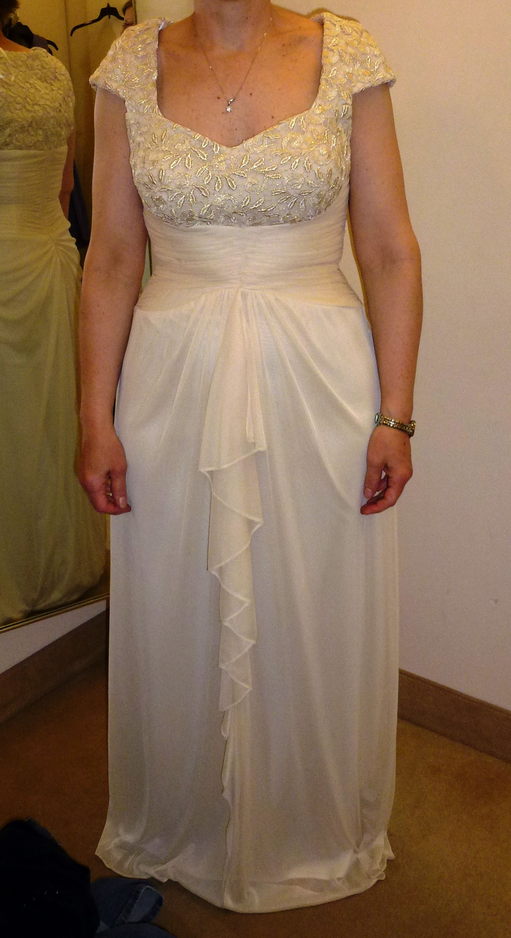 Mother of the bride gown purchased at lord and taylor 25